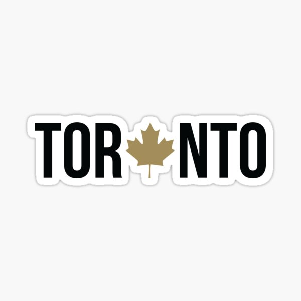 Toronto Maple   OVO Colorway Sticker