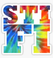 STIFI Sticky Fingers Logo Sticker