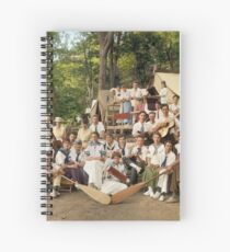 Classy Campers, somewhere in USA, 1915 Spiral Notebook