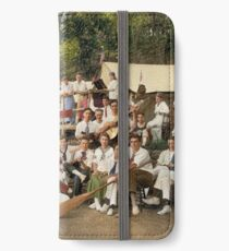 Classy Campers, somewhere in USA, 1915 iPhone Wallet/Case/Skin