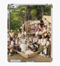 Classy Campers, somewhere in USA, 1915 iPad Case/Skin