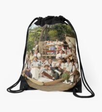 Classy Campers, somewhere in USA, 1915 Drawstring Bag