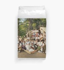 Classy Campers, somewhere in USA, 1915 Duvet Cover