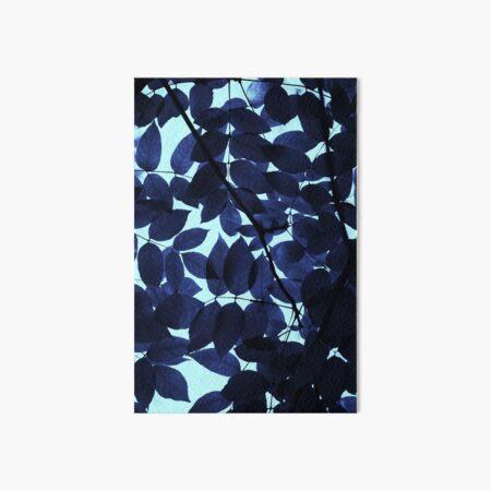 Blue Forest Art Board Print