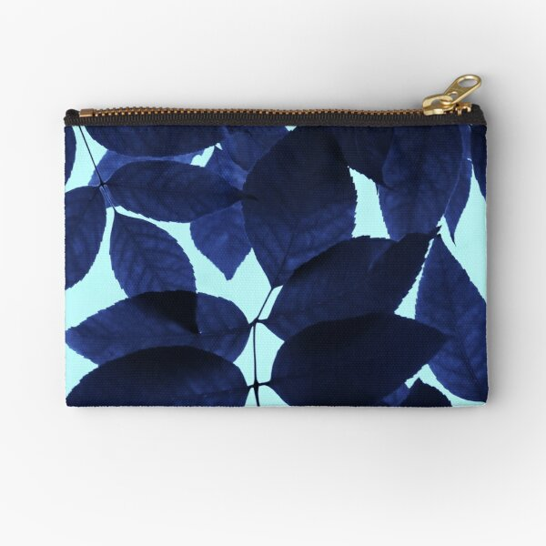 Blue Forest Zipper Pouch