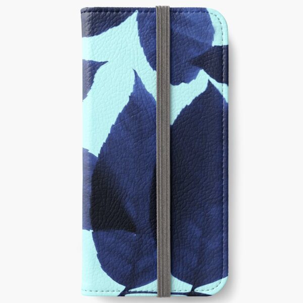Blue Forest iPhone Wallet