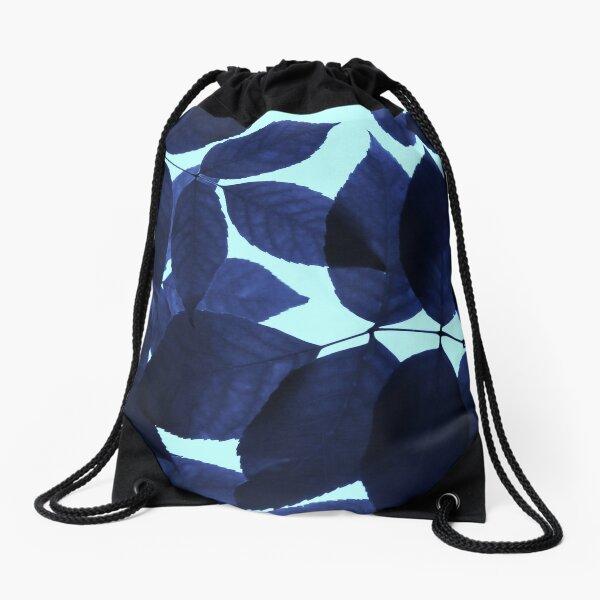 Blue Forest Drawstring Bag