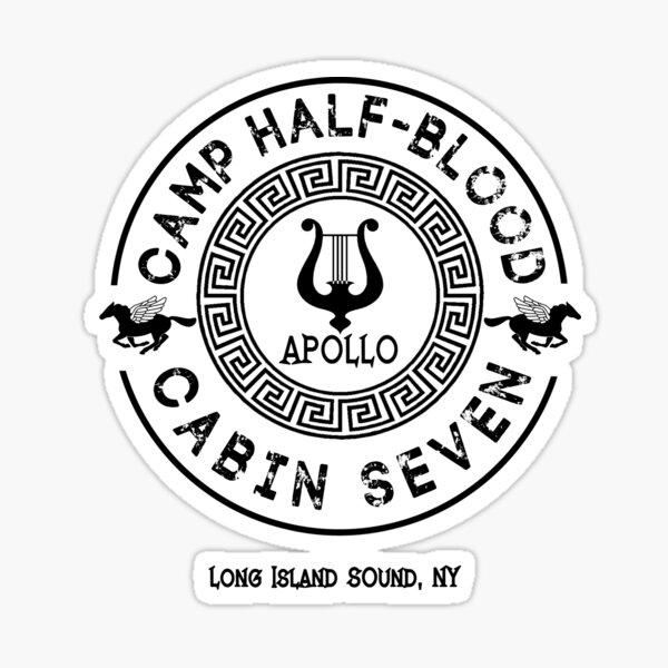 Percy Jackson - Camp Half-Blood - Cabin Seven - Apollo Sticker
