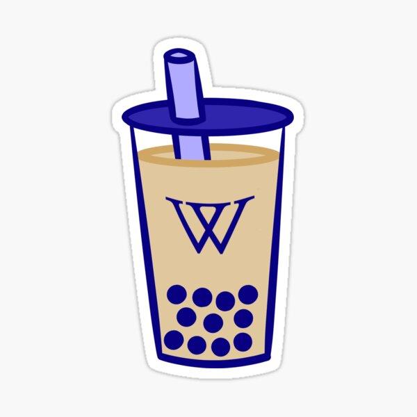 Wellesley Bubble Tea [Milk Tea] Sticker
