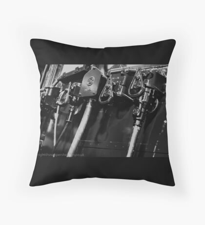 Switches and controls  Throw Pillow