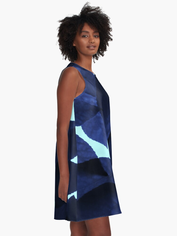 Alternate view of Blue Forest A-Line Dress