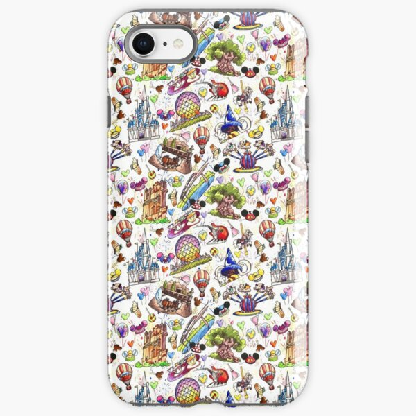 The ORIGINAL Park Rides Vacation park hopper iPhone Tough Case