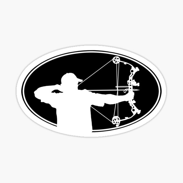 Bow Hunter Sticker Sticker