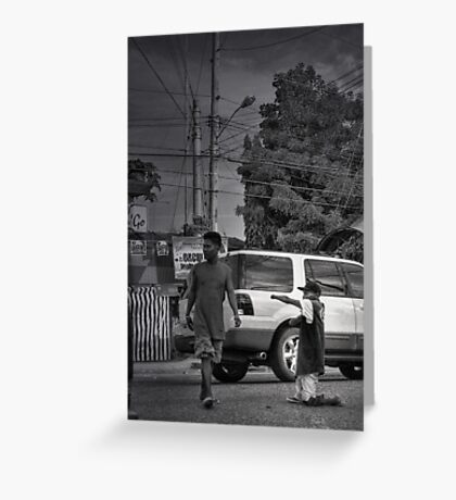 The Traffic Enforcer Greeting Card
