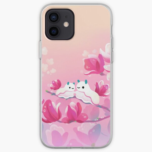 Magnolia sea slug iPhone Soft Case