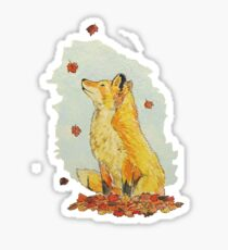 falling for fall Sticker