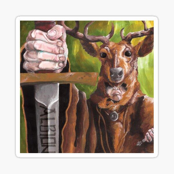 Herne the Hunter Sticker