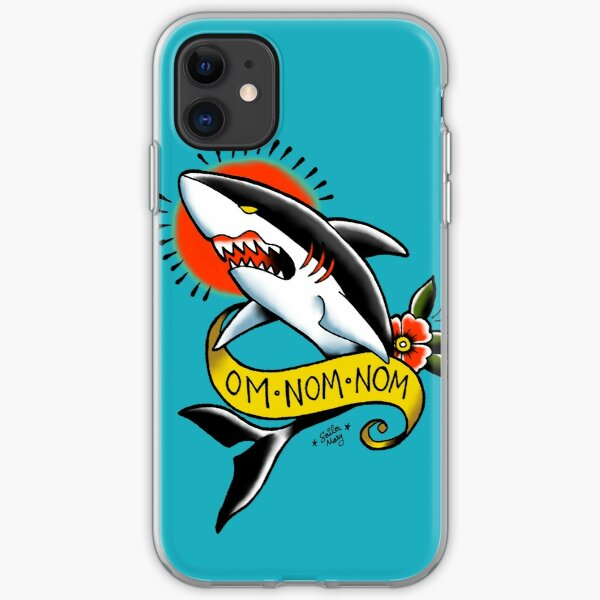Funda Homer Tiburon Rosquilla para iPhone