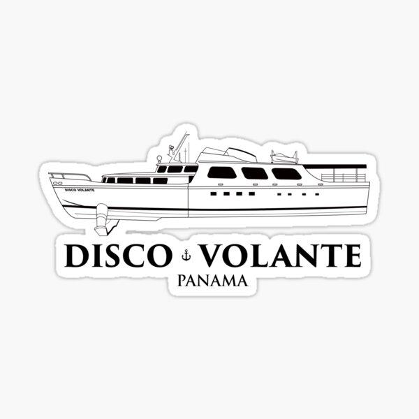 Disco Volante Sticker