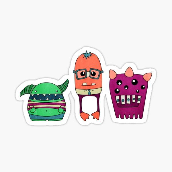 Dorky Monsters Sticker