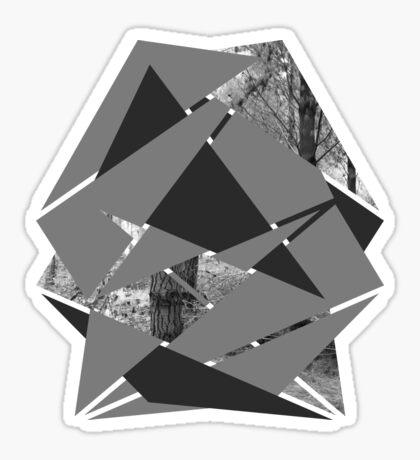 Gewebter Wald Sticker