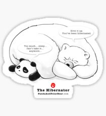 The Hibernator Sticker