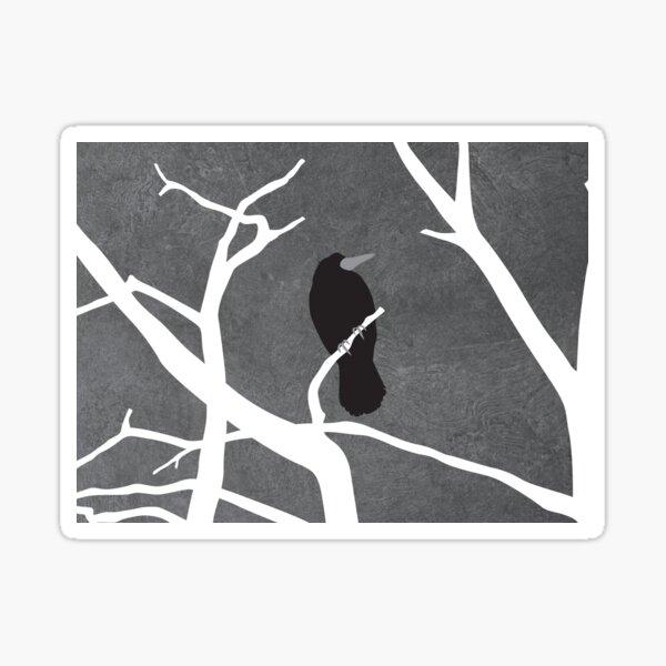 Gray Day Sticker