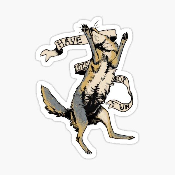 Geh Kojote ... Sticker