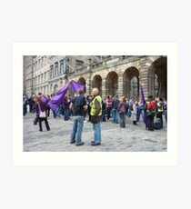 The Meeting of the Clans Art Print