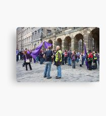 The Meeting of the Clans Canvas Print
