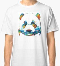 Colorful Panda Bear Art By Sharon Cummings Classic T-Shirt