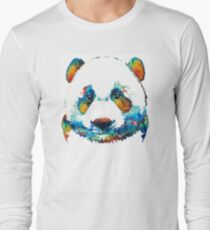Colorful Panda Bear Art By Sharon Cummings T-Shirt
