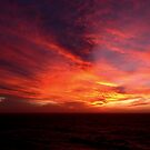Sonnenuntergang vor der südafrikanischen Küste von GedTKirk