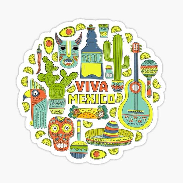 Viva Mexico Sticker