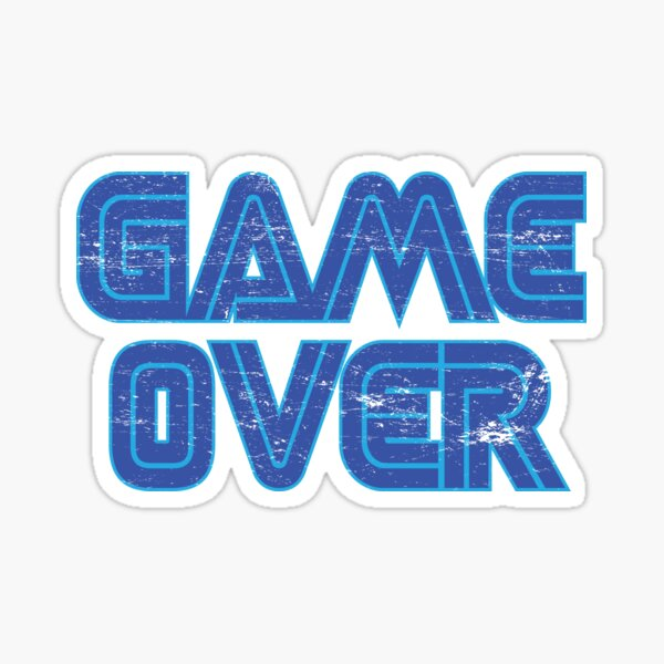 Game Over 2 Sticker