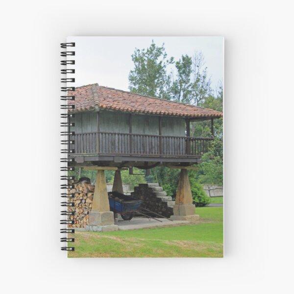Horreo Asturias Spain Spiral Notebook