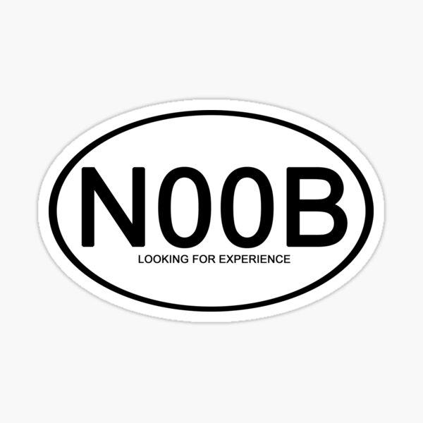 n00b Sticker