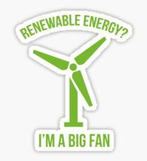 Pegatina Energía renovable