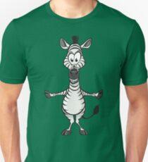 Silly zebra hugs T-Shirt