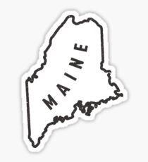 Maine - My home state Sticker