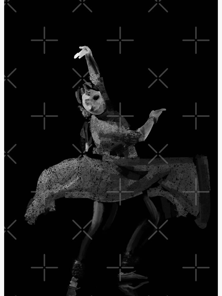 Kathak Dance Flow 193 Art Board Print By Oracleartist Redbubble