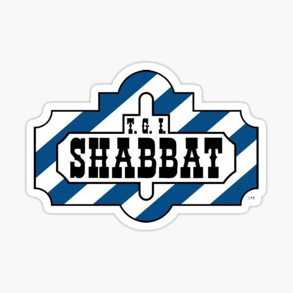 T.G.I. SHABBAT Sticker