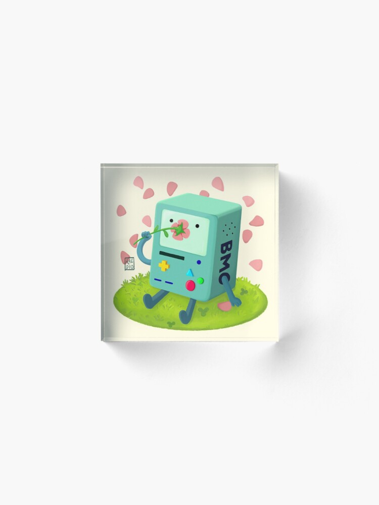Alternate view of Flowers for BMO Acrylic Block
