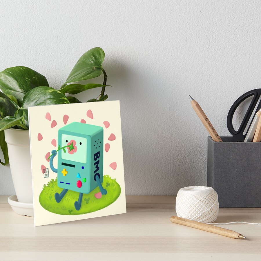 Flowers for BMO Art Board Print