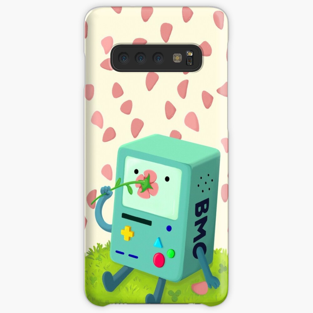 Flowers for BMO Case & Skin for Samsung Galaxy