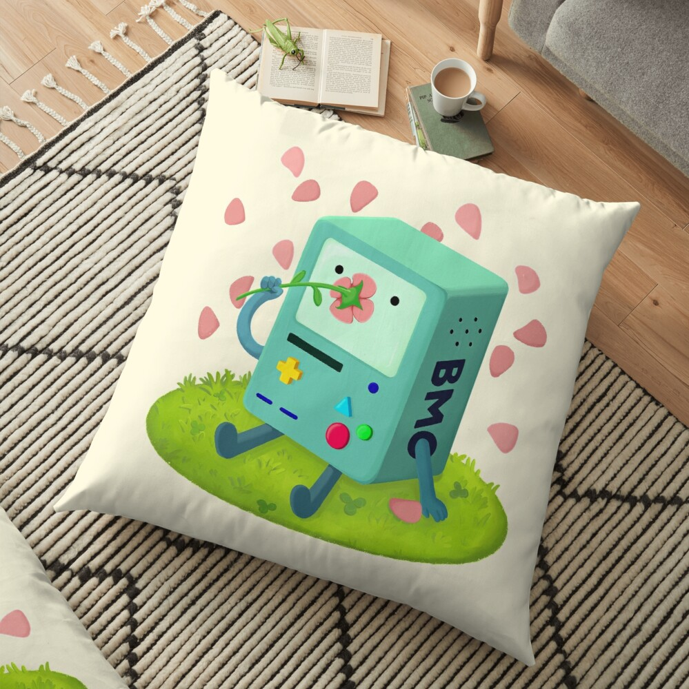 Flowers for BMO Floor Pillow