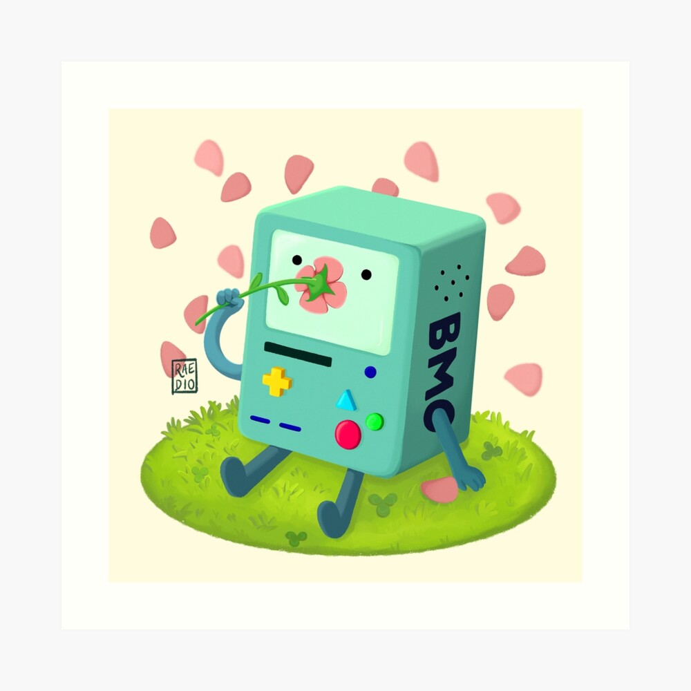 Flowers for BMO Art Print