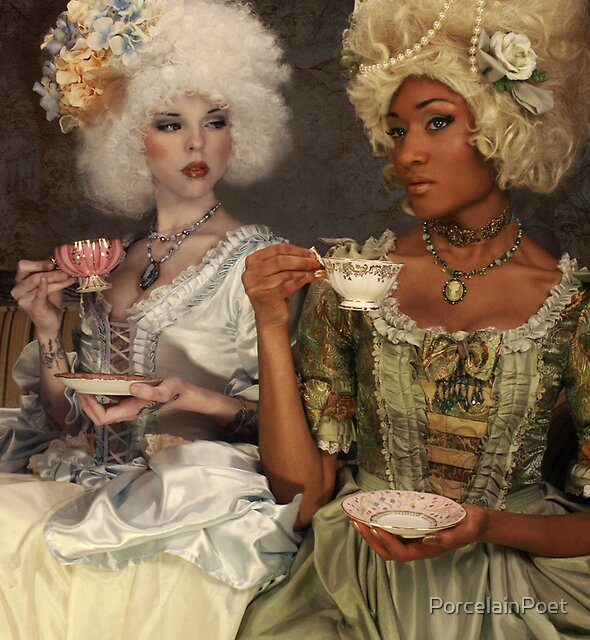 Tea Party II by PorcelainPoet