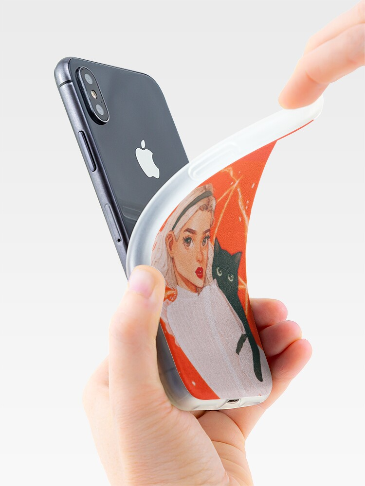 Alternate view of the teenage witch iPhone Case & Cover