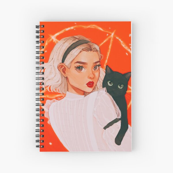 the teenage witch Spiral Notebook